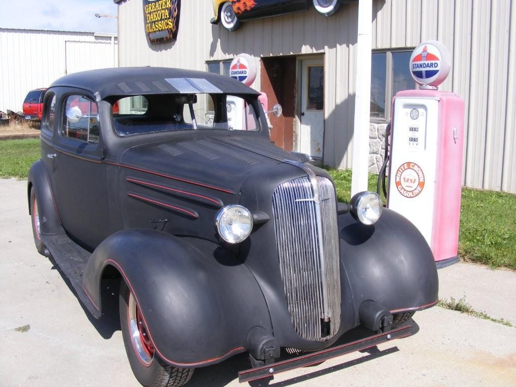 1936 Chevrolet 2 Door Sedan Street  Rat Rod