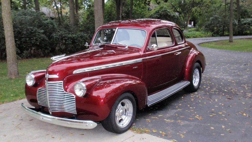 1940 chevrolet coupe street rod greater dakota classics. Black Bedroom Furniture Sets. Home Design Ideas