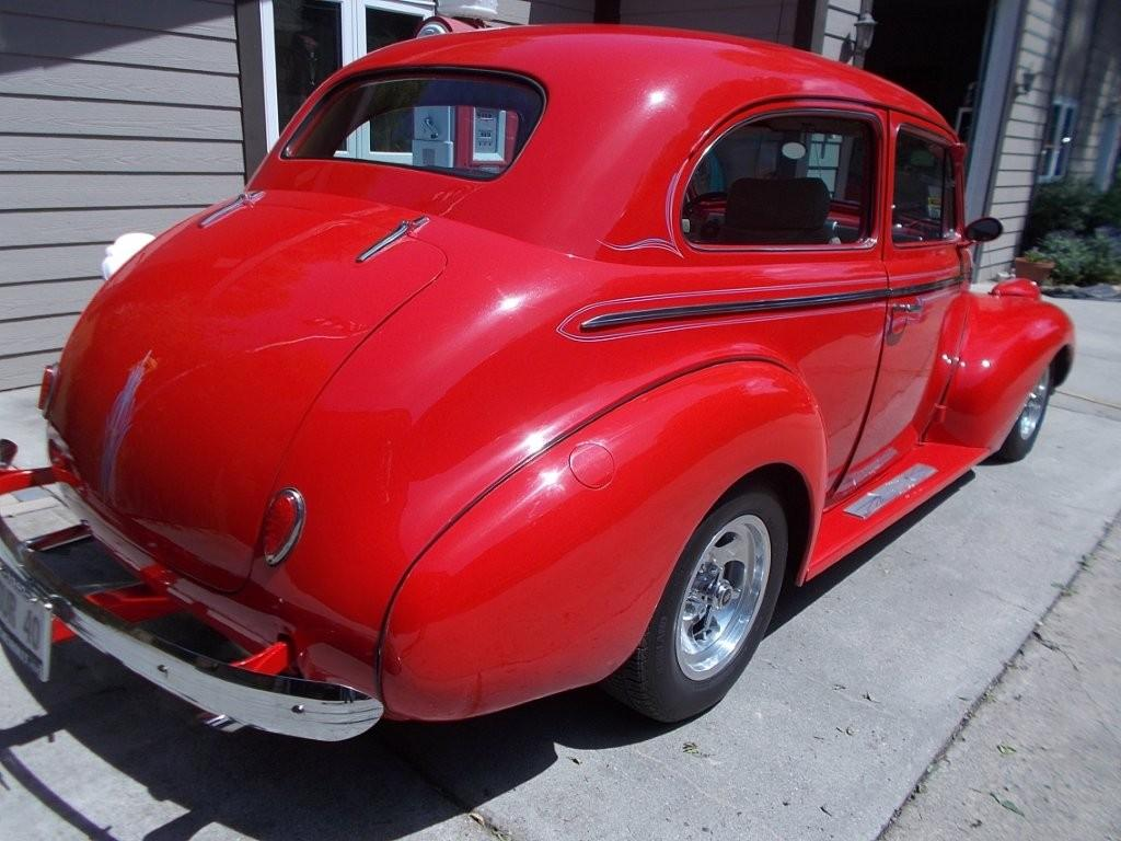 1940 Chevrolet 2 Door Sedan Street Rod Greater Dakota