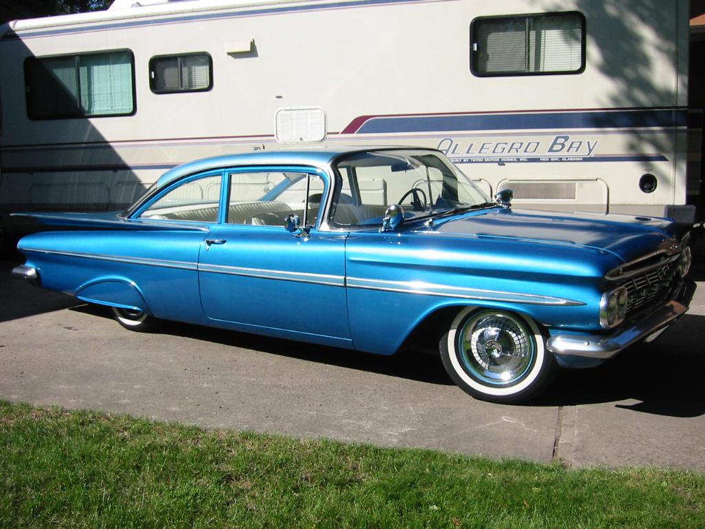 1956 chevrolet bel air 4 door hardtop 113233 - Pics Photos Chevrolet Bel Air 1959 2 Door Coupe 575x431 1959