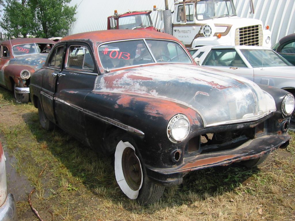 1950 mercury 4 door sedan greater dakota classics for 1950 mercury 4 door for sale