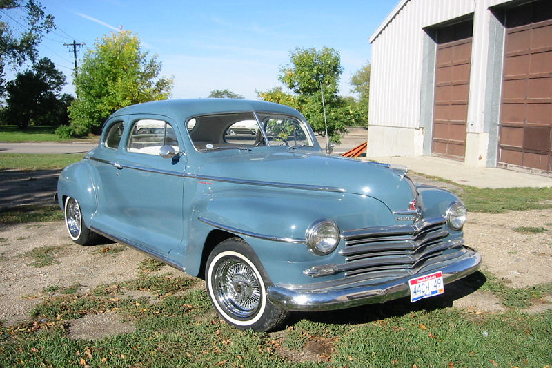 1948 plymouth special deluxe coupe greater dakota classics. Black Bedroom Furniture Sets. Home Design Ideas