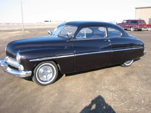 Greater dakota classics photo gallery mercury 39 s sold for 1950 mercury 2 door coupe