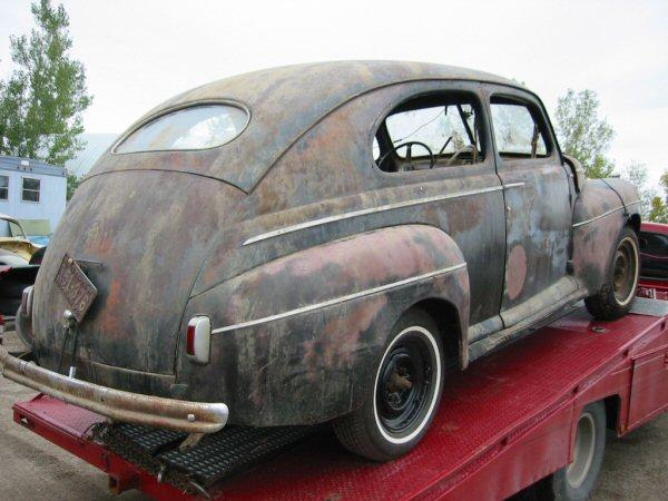 1941 ford super deluxe 2 door sedan greater dakota classics for 1941 ford 2 door sedan