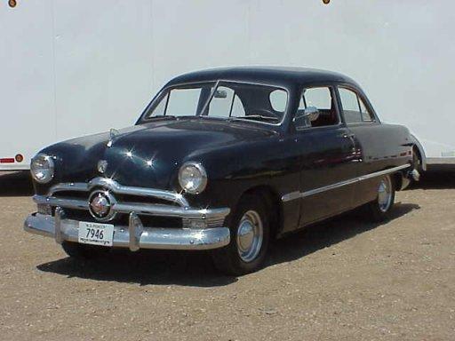1950 ford 2 door sedan greater dakota classics for 1950 ford 4 door