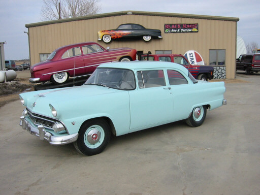 1955 ford 2 door sedan greater dakota classics